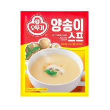 Ottogi Mushroom Cream Soup 2.82oz(80g), 오뚜기 양송이 스프 2.82oz(80g)