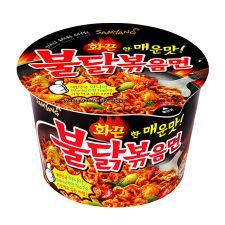 Samyang Hot Chicken Flavor Ramen Big Bowl 3.7oz(105g), 삼양 불닭볶음면 큰컵 3.7oz(105g)