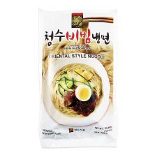 Choung Soo Bibim Naengmyeon (Korean Spicy Cold Noodle) 25.40oz(720g), 청수 비빔냉면 건면 25.40oz(720g)