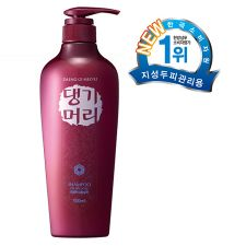 Doori Daeng Gi Meo Ri Shampoo For Oily Scalp 16.9 fl.oz(500ml), 두리 댕기머리 지성 두피용 샴푸 16.9 fl.oz(500ml)