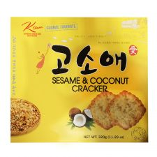 Ktown Sesame Coconut Cracker Big Size 11.29oz(320g), 케이타운 고소애 빅사이즈 11.29oz(320g)