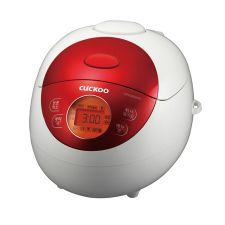 Electric Rice Cooker Red 3 Cups (CR-0351F)