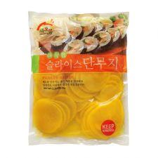Haioruem Sliced Pickled Radish 2.2lbs(1kg), 해오름 아삭한 슬라이스 단무지 2.2lbs(1kg)
