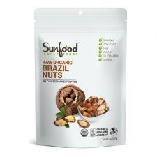 Sunfood Raw Organic Brazil Nuts 8oz(227g), Sunfood 유기농 브라질 넛 8oz(227g)
