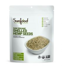 Organic Shelled Hemp Seeds 1lb(454g)