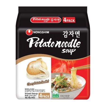 Potato Noodle Soup 4.1oz(117g) 4 Packs