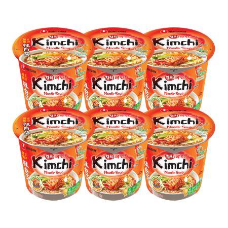Kimchi Ramyun Cup 2.6oz(75g) 6 Cups