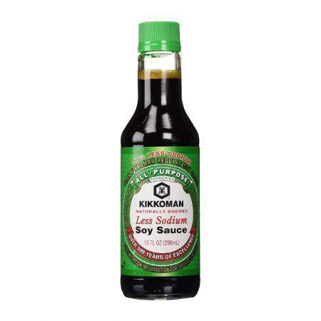 Naturally Brewed Soy Sauce Less Sodium 10oz(296ml)