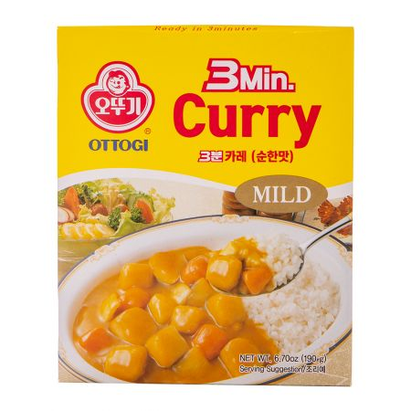 3 Minutes Curry Mild Flavor 6.7oz(190g)