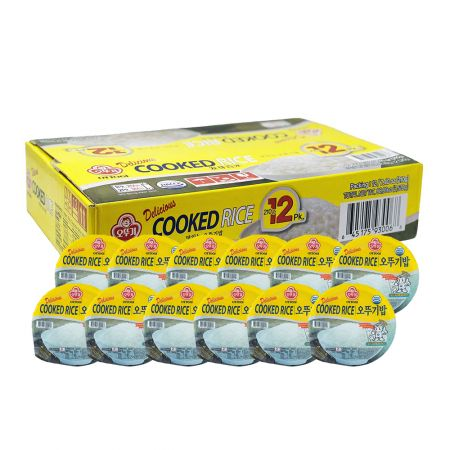 Delicious Cooked Rice 7.4oz(210g) 12 Packs