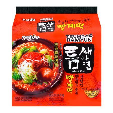 Teum Sae Ramen 4.23oz(120g) 5 Packs