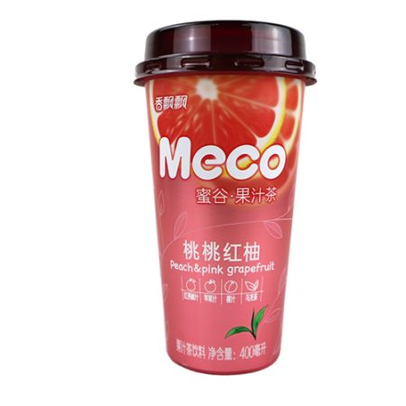 Meco Peach Pink Grapefruit Tea 13.52 fl.oz(400ml)