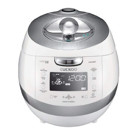 Full Stainless Eco IH Pressure Rice Cooker/Warmer 6 Cups (CRP-BHSS0609F)