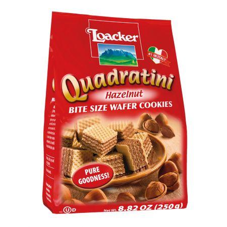 Quadratini Hazelnut 8.82oz(250g)