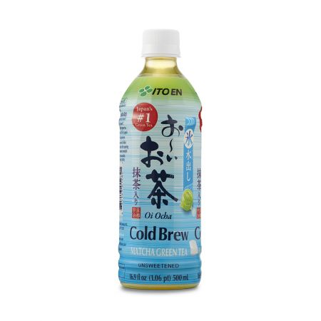 Oi Ocha Unsweetened Cold Brew Matcha Green Tea 16.9 fl.oz(500ml)