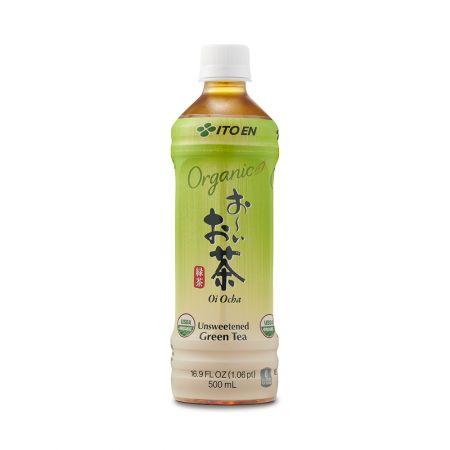 Organic Oi Ocha Unsweetened Green Tea 16.9 fl.oz(500ml)