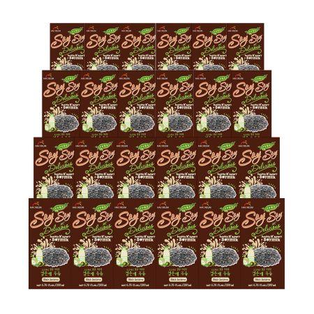 Soy Milk Black Sesame 6.76oz(200ml) 24 Packs