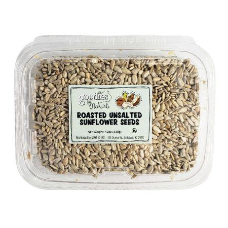 Roasted Unsalted Sunflower Seeds 12oz(340g)