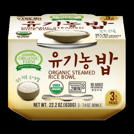 Organic Cooked White Rice 7.4oz(210g) 3 Packs