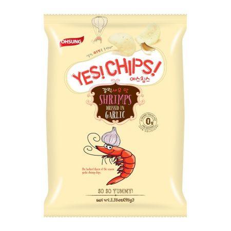 Yes! Chips! Garlic Shrimp Chips 3.4oz(95g)