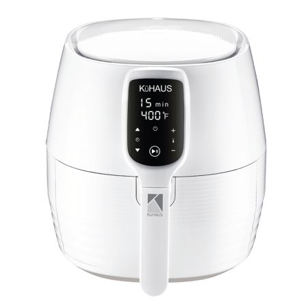 Touch-Screen Air Fryer White 5.28qt(5L)