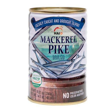 Canned Mackerel Pike 14.1oz(400g)