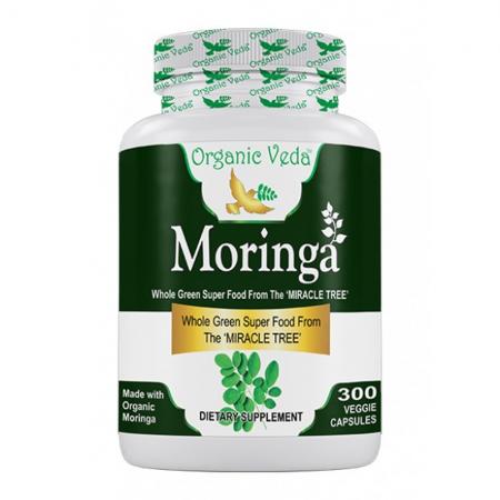 Organic Moringa 300 Caps