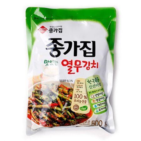 Young Radish Leaves Kimchi 17.6oz(500g)