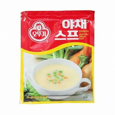 Vegetable Cream Soup 2.82oz(80g)
