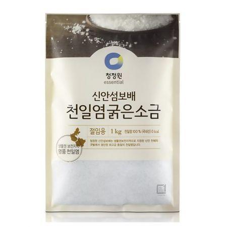 Jewel of Sinan Island Natural Premium Sea Salt for Kimchi 2.2lb(1kg)