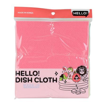 Plus Non Woven Dish Cloth 16 X 15 in 3 Pcs