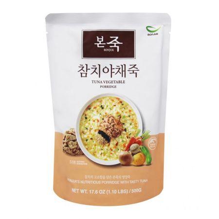 Tuna Vegetable Rice Porridge 1.1lb(500g)
