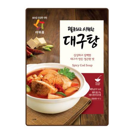 Spicy Cod Soup 14oz(396g)