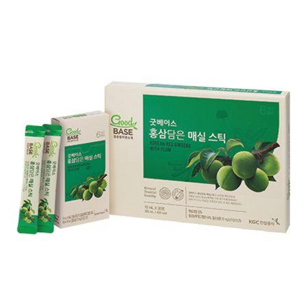 GoodBase Red Ginseng & Plum 0.34 fl.oz(10ml) X 30 Sticks