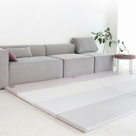 Eco Silion Mat SG Urban Gray Pink 94.49 X 55.12 X 1.57 in