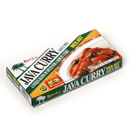 Java Curry Sauce Mix Med Hot 6.52oz(185g)
