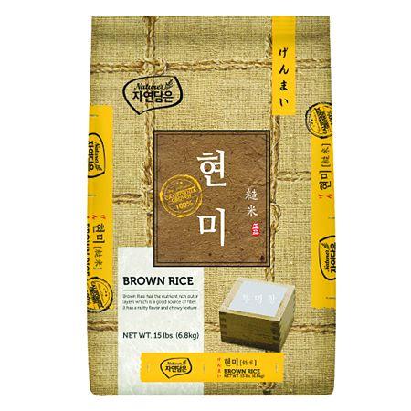 Brown Rice 15lb(6.8kg)