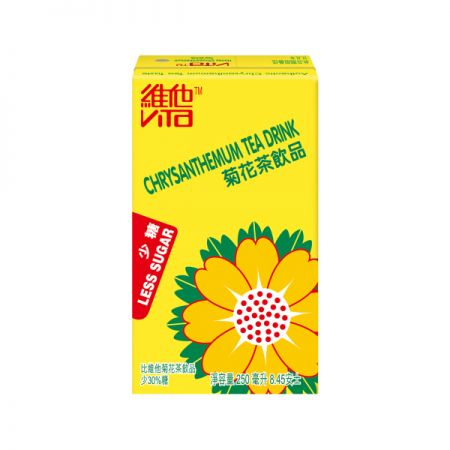 Less Sugar Chrysanthemum Tea 8.45oz(250ml) Pack of 6