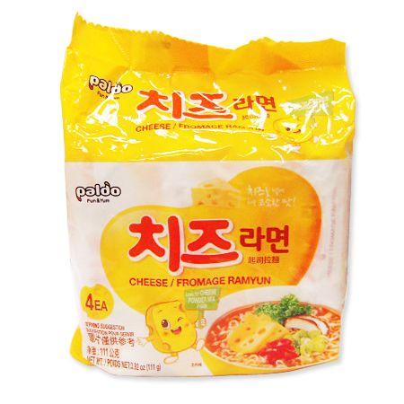 Cheese Ramyun 3.91oz(111g) 4 Packs