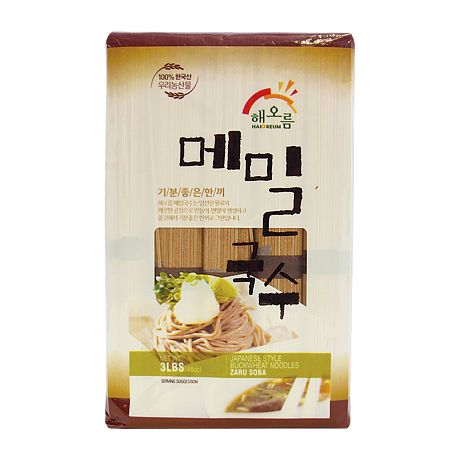 Japanese Style Buckwheat Noodles 3lb(1.4kg)