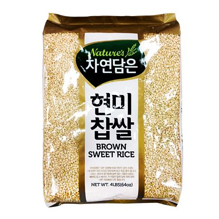 Brown Sweet Rice 4lb(1.81kg)