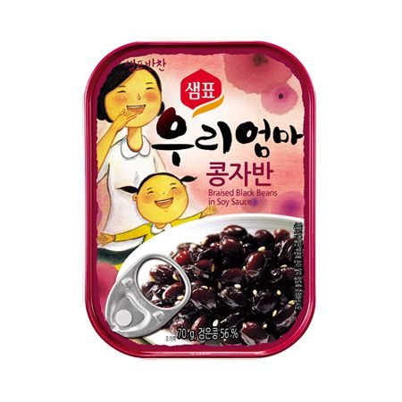 Braised Black Beans in Soy Sauce 2.4oz(70g)