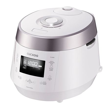 Pressure Rice Warmer 10 Cups Rose Pink + White (CRP-P1009S)