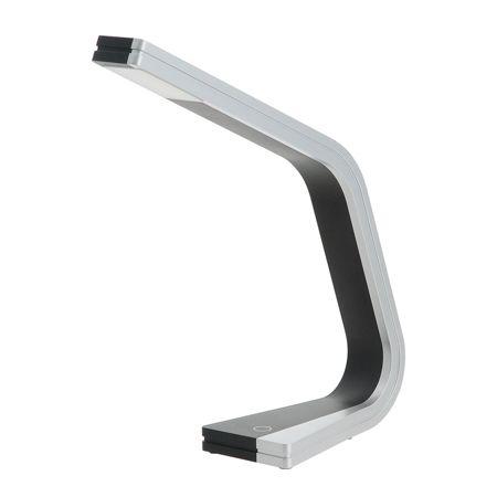 LG Bright LED Desk Lamp FL-191H - Black/Silver