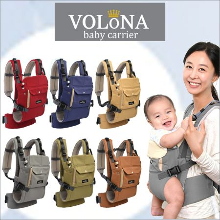 100a7fe5022 Volona S Baby Carrier Gray + Free Teething Pad