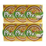 Pho Beef Flavor with Sriracha Sauce 2.18oz(62g) 6 Cups