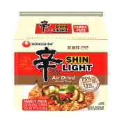 Air Dried Shin Ramyun Light 3.4oz(97g) 4 Packs