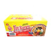 Jin Ramen Hot Flavor 4.23oz(120g) 20 Packs