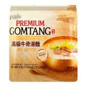 Premium Gomtang Noodles 4.41oz(125g) 4 Packs