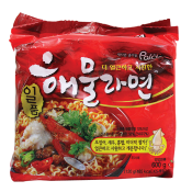 Spicy Seafood Noodle Soup 4.2oz(120g) 5 Packs